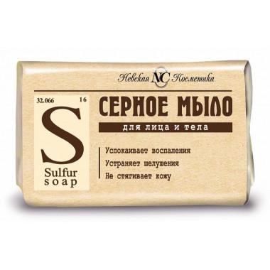 Мыло Невская косметика серное 90г