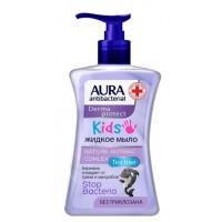 Крем-мыло Аура детское антибактериальное жидкое 250мл