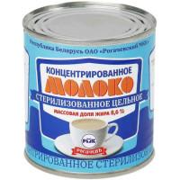 Молоко Рогачевский мк стерилизованное цельное 8,6% 300г