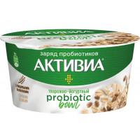 Биопродукт Активиа йогуртно-творожный отруби-злаки 3,5% 135г