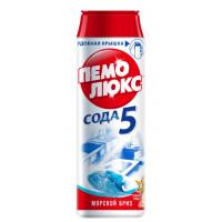 Порошок Пемолюкс сода эффект морской бриз 480г пластик