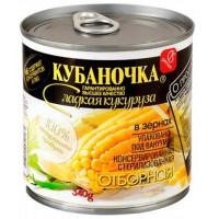 Кукуруза Кубаночка сладкая ж/б 340г