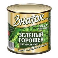 Горошек Знаток зеленый 425мл ж/б