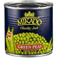 Горошек Микадо зеленый ж/б 425г