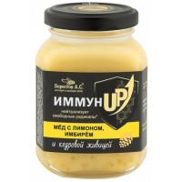 Мед Берестов А.С. Иммун с лимоном имбирем 200г