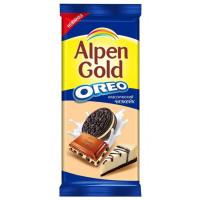 Шоколад Альпен Гольд Орео молочный классический чизкейк 95г