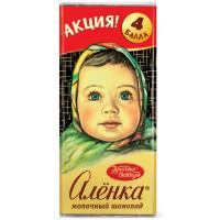Шоколад Красный Октябрь Аленка 60г