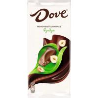 Шоколад Дав молочный с фундуком 90г
