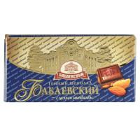 Шоколад Бабаевский с миндалем 100г