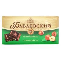 Шоколад Бабаевский с фундуком 100г