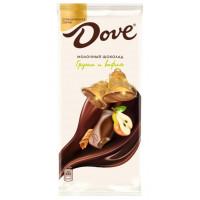 Шоколад Дав молочный груша и вафля 90г