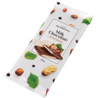Шоколад Коммунарка молочный с ореховой нугой 85г