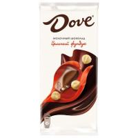 Шоколад Дав молочный с цельным фундуком 90г