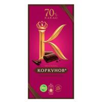 "Шоколад ""А. Коркунов"" горький 90г"