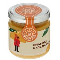 Мед Добрый мёд кремовый с апельсином 220г