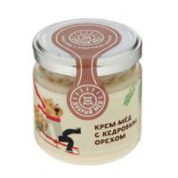 Мед Добрый мёд кремовый с кедровым орехом 220г