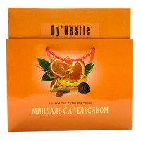 Конфеты Династия Миндаль с апельсином 205г