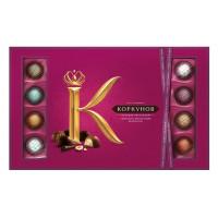 Конфеты А. Коркунов ассорти темный и молочный шоколад 256г