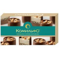 Конфеты Комильфо миндаль и крем-карамель 116г