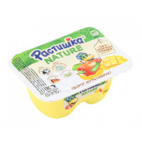 Творог Растишка мультифрукт банан-яблоко-манго 3,5% 95г
