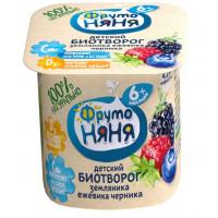Биотворог Фруто-няня с лесными ягодами 4.2% 100г
