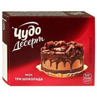 Сырок Чудо Десерт глазированный три шоколада 24,4%40г