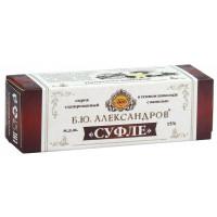 Сырок Б.Ю.Александров глазированный в темном шоколаде суфле с ванилью 15% 40г