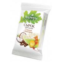 Сырок Лукоморье творожный кокос/шоколад 16,5% 100г