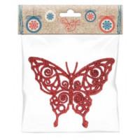 Украшение 77898 Феникс презент Бабочка красная