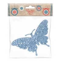 Украшение 77894 Феникс Бабочка голубая подвесное