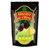 Маслины Маэстро де Олива с косточкой 170г пл/у