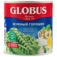 Горошек Глобус зеленый премиум ж/б 400г