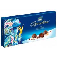 Конфеты Бабаевский Вдохновение шоколадное пралине с орехами 400г