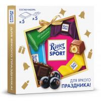 Набор шоколада Риттер Спорт Яркий мини-микс 123,4г